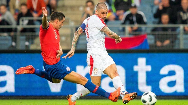 Adversaire de la Suisse à la prochaine Coupe du monde, la Serbie a perdu en match de préparation 1-0 contre le Chili à Graz en Autriche.