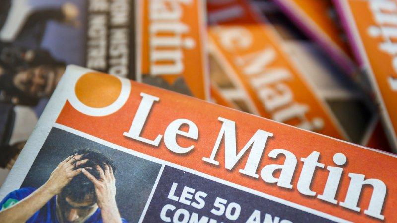 """Médias: le journal """"Le Matin"""" devrait disparaître dès le 22 juillet"""