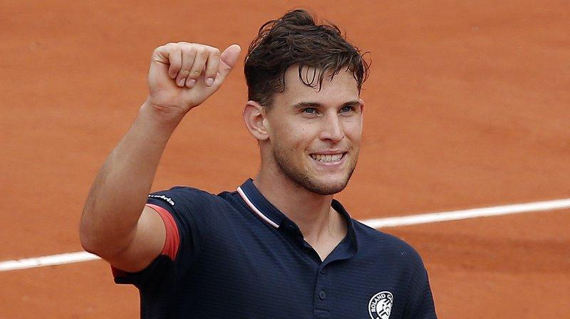 Tennis - Roland-Garros: l'Autrichien Thiem en demi-finale en battant un Zverev diminué