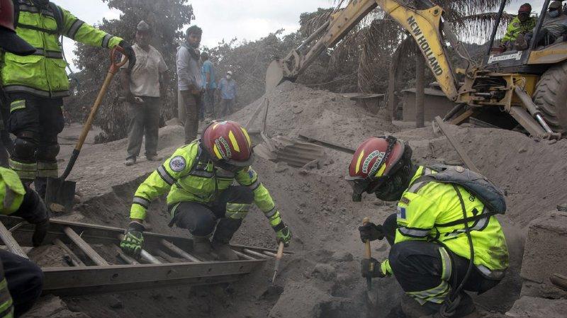 Guatemala: près de 200 disparus après l'éruption du Volcan de Feu