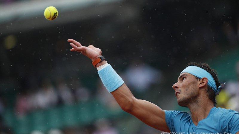 Tennis - Roland-Garros: malmené mercredi soir, Nadal revient jeudi et se qualifie sans peine pour les demi-finales