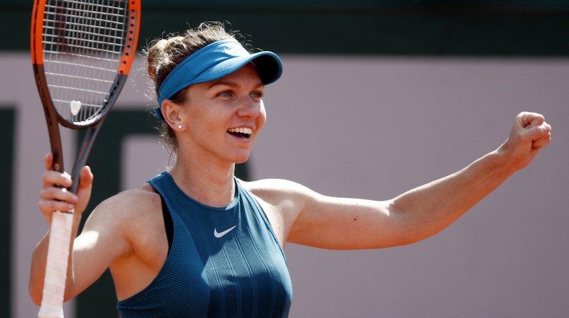 Simona Halep n'a pas tremblé et s'est qualifiée pour la finale.