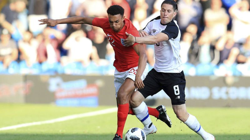 Le Costa Rica n'a pas réussi à accrocher l'Angleterre.