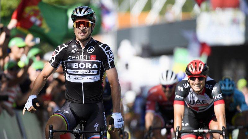 Peter Sagan gagnant de la 2e étape.