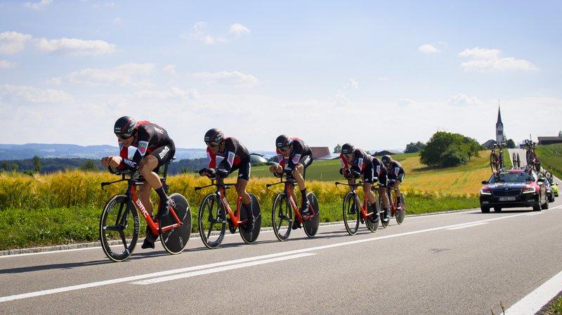 Cyclisme - Tour de Suisse: le Suisse Stefan Küng premier maillot jaune