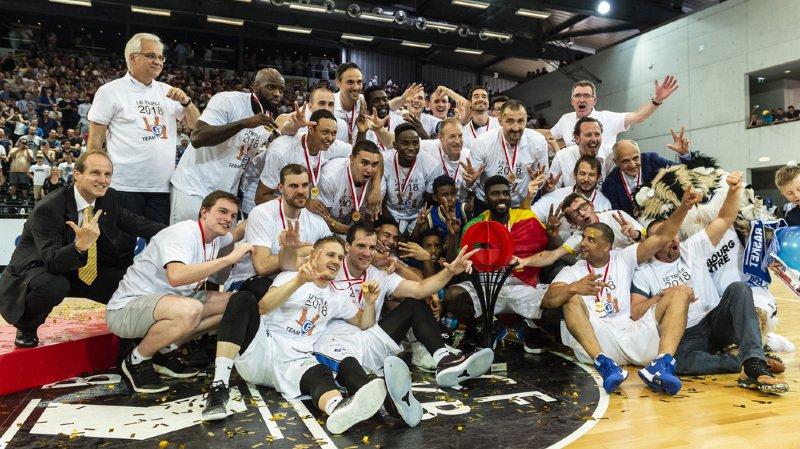 Basketball: Fribourg Olympic champion de Suisse face aux Lions de Genève