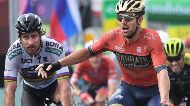 Cyclisme - Tour de Suisse: l'Italien Sonny Colbrelli gagne au sprint la 3e étape