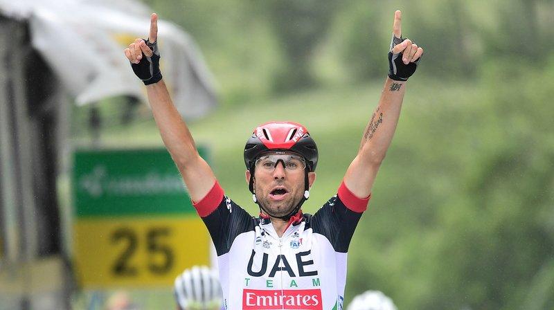 Diego Ulissi (Emirates) a remporté la 5e étape du Tour de Suisse entre Gstaad et Loèche-les-Bains sur 155 km.