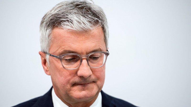 Le PDG d'Audi Rupert Stadler a été arrêté dans le cadre de l'affaire des moteurs diesel truqués.