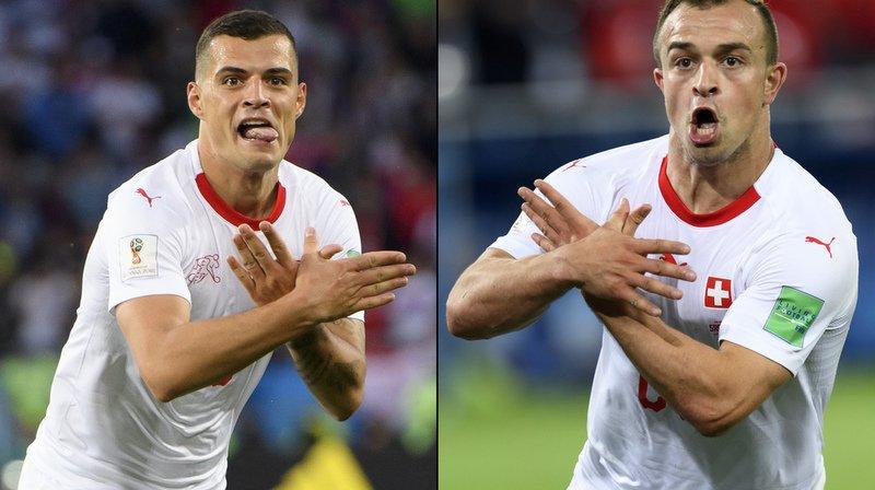 Coupe du monde 2018: la presse serbe furieuse contre les célébrations de Shaqiri et Xhaka