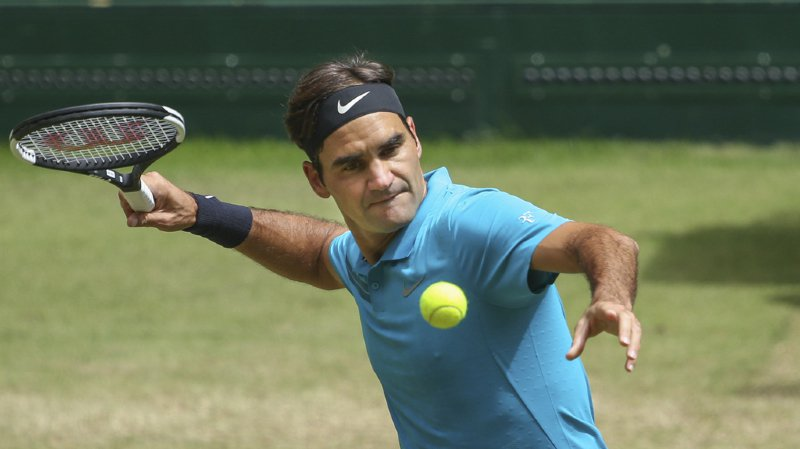 Tennis: Federer se qualifie pour la finale du tournoi de Halle sans briller