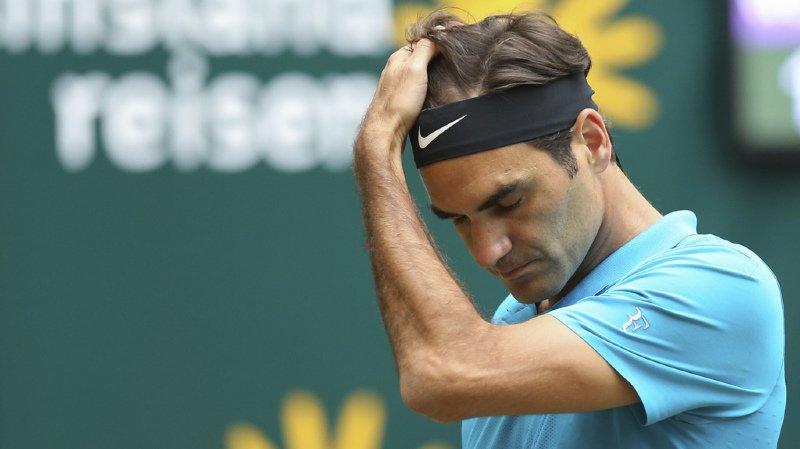 Tennis: Federer s'incline en finale du tournoi de Halle et perd la place de numéro 1 mondial