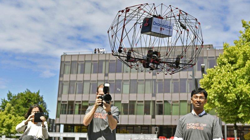 """Zurich: l'avenir des drones se joue aussi en Suisse durant le """"Drone Innovators Network"""""""