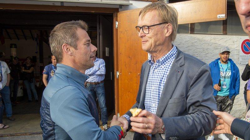 Les légendes Sébastien Loeb et Ari Vatanen se confient avant le départ du rallye du Chablais