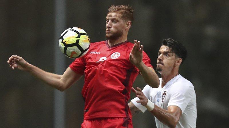 Les Tunisiens ont disputé lundi soir un match amical face au Portugal à Braga.