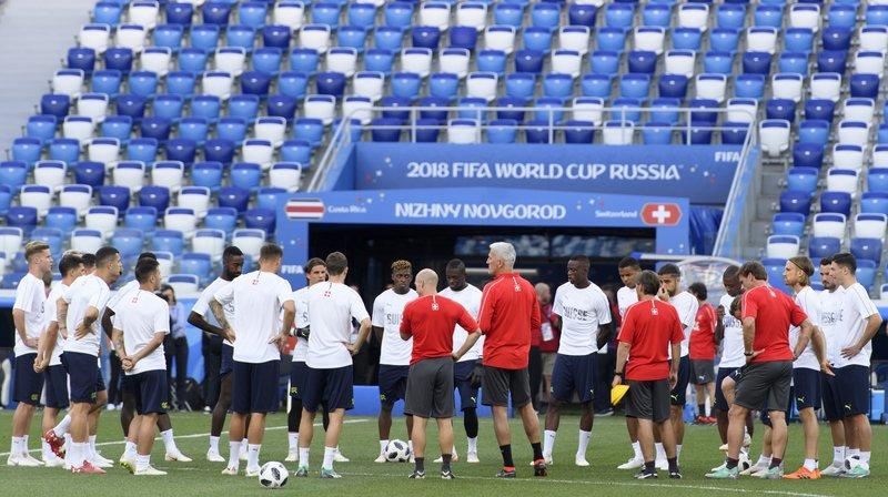 Coupe du Monde: une seule ombre au tableau pour la Nati, l'attaque est à la peine