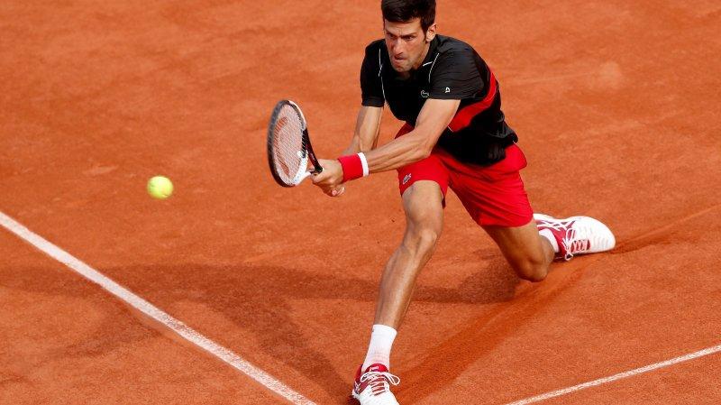 Roland-Garros:  Novak Djokovic en quart