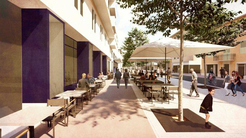 Martigny: l'Atelier Grept Sàrl remporte le concours pour un nouvel aménagement de l'avenue de la Gare