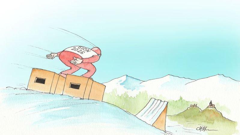 Sion 2026: apéros, pied au cul, espoirs et enfumage, on vous emmène pour cette dernière ligne droite dans l'incroyable saga de l'aventure olympique