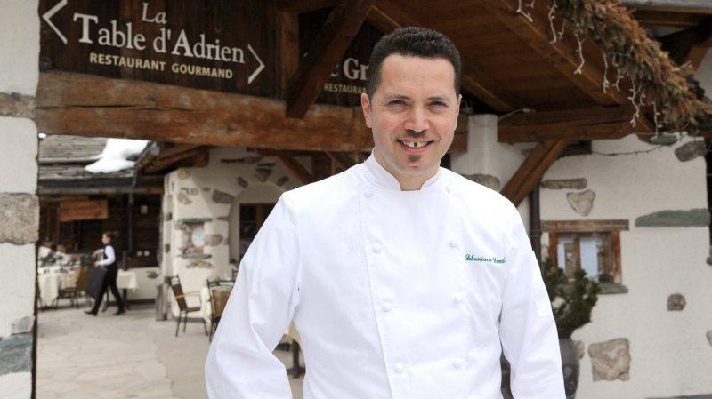 Sebastiano Lombardi est le nouveau chef de cuisine du Chalet d'Adrien.