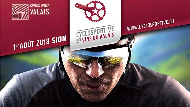 Cyclosportive des Vins du Valais 2018