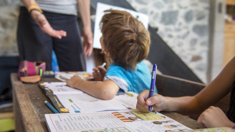Valais: peu d'enfants sont scolarisés à la maison