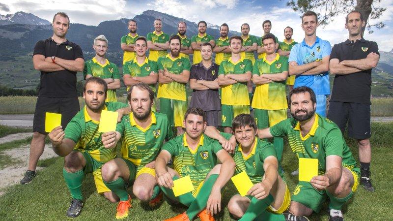Des joueurs du FC Erde II, l'équipe la plus fair-play en Valais, seront invités à jouer ce premier tour.