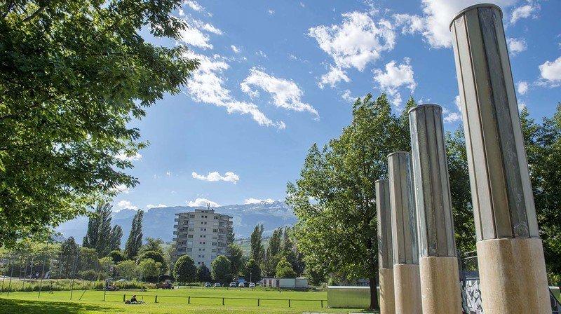 Les aménagements de la ville de Sion ont plu au jury du prix.