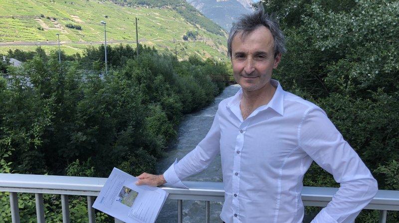 Martigny: les berges de la Dranse sont polluées au mercure