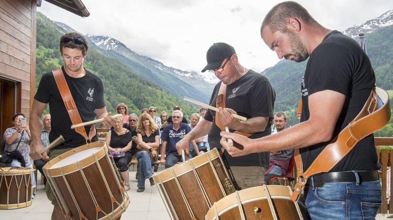 Trois musiciens des fifres et tambours de Saint-Jean ont notamment participé au concours.