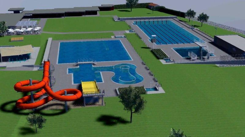 Monthey: l'assainissement de la piscine est devenu prioritaire