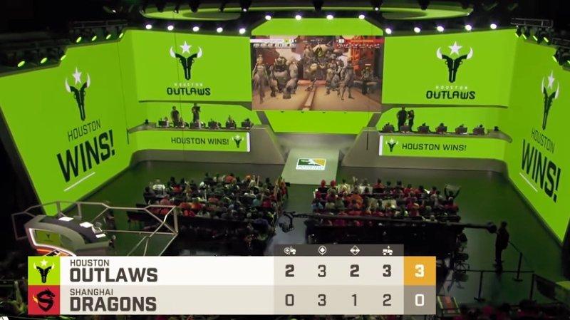 Quelque 100'000 internautes ont regardé en ligne jeudi la 35e défaite de l'équipe contre Seoul Dynasty, suivie samedi de la 36e contre les Houston Outlaws (photo).