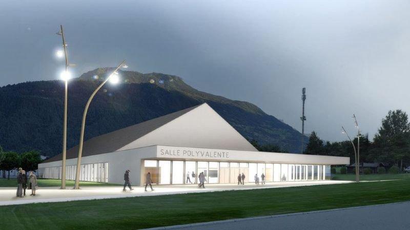 Les travaux de la salle polyvalente vont se poursuivre durant tout l'été. Réouverture prévue le 3 novembre.