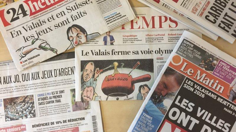 De nombreux médias ont consacré leur éditorial au verdict de Sion 2026.
