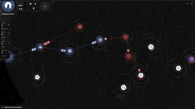 """Le jeu """"Asylamba: Influence"""" est basé sur l'univers du premier volet, """"Asylamba: Expansion Stellaire""""."""