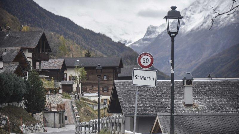 La commune de Saint-Martin gèle l'ensemble de ses zones à bâtir pour deux ans.