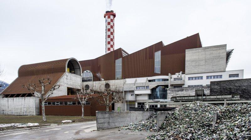 Sion: l'UTO a incinéré moins de déchets tandis que les déchets recyclables sont en hausse