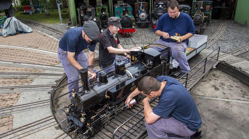 Des vaporistes de toute l'Europe feront tourner leurs machines sur le parc pendant le festival.