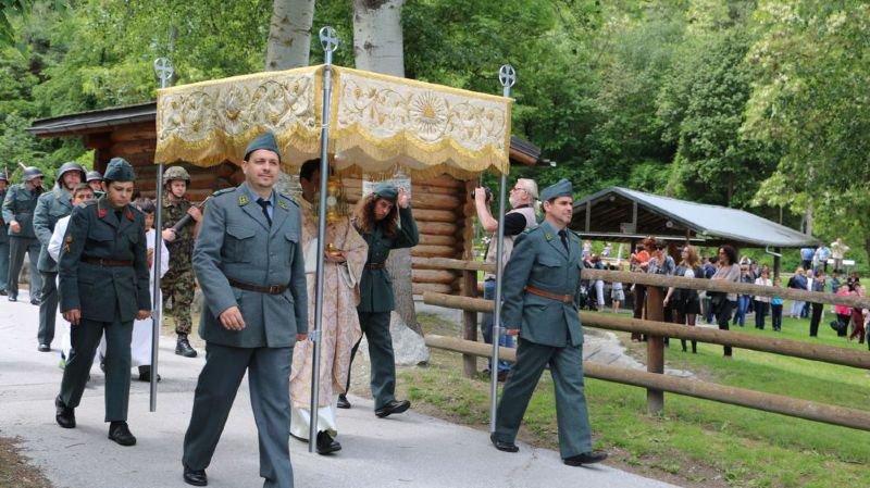 Les militaires participeront à la procession de la Fête-Dieu.