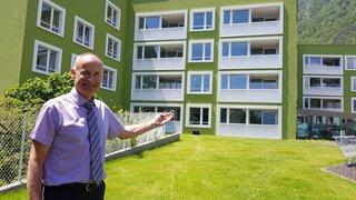 Vouvry: 24 appartements protégés proches de l'EMS