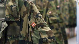 Armée suisse: environ 10'500 recrues ont fait leur rentrée