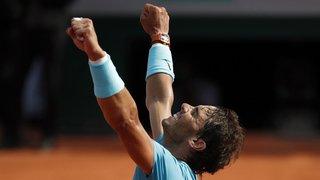 Tennis: Roland-Garros: Nadal en finale pour un onzième sacre en battant Del Potro