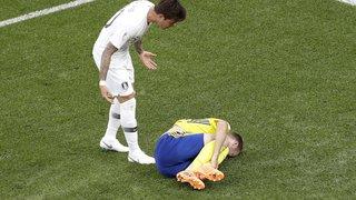 Coupe du monde: la journée du 18 juin en images