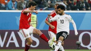 Coupe du monde 2018: à St-Saint-Pétersbourg la Russie étouffe l'Egypte de Mohamed Salah et devrait passer en huitièmes