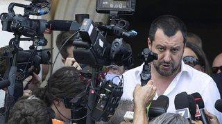 Crise migratoire: le ministre italien Matteo Salvini somme les ONG de laisser faire les garde-côtes libyens