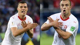 Coupe du monde 2018: La FIFA ouvre une enquête contre Xhaka et Shaqiri