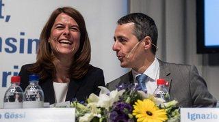 Suisse - UE: la présidente du PLR Petra Gössi monte au front pour défendre Ignazio Cassis
