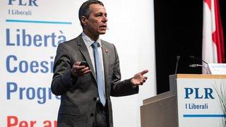 Assemblées des partis: les relations Suisse-UE au coeur des discussions, le PS attaque Ignazio Cassis
