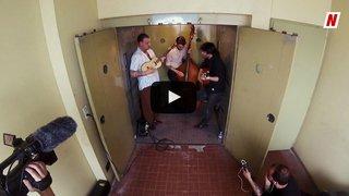 """Les Coconut Kings secouent la """"Monte-charge Session"""" du Nouvelliste avec leur titre """"The sad fate of Mr.Yourself"""""""