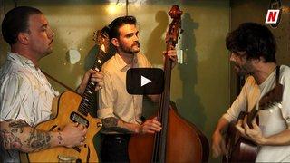 """Les Coconut Kings embarquent dans la """"Monte-charge Session"""" du Nouvelliste avec une reprise intitulée """"Mojo hand"""""""